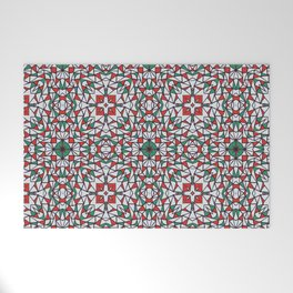 Doodle Pattern 16 Welcome Mat