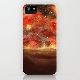 Beautiful Galaxy III iPhone Case