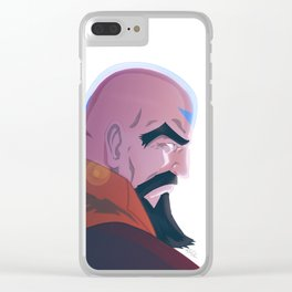Master Tenzin Clear iPhone Case