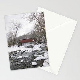 Thomas Mills Covered Bridge, Philadelphia Stationery Cards