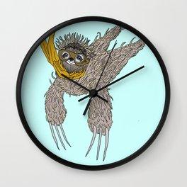 Impulsive Sloth Wall Clock