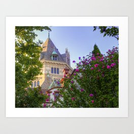 Ivory Tower Art Print
