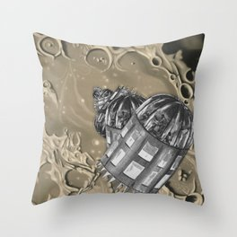 Time-lapse of the Cascade Throw Pillow