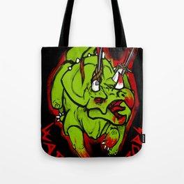 Warriorceratops! Tote Bag