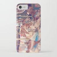 carousel iPhone & iPod Cases featuring Carousel by Laura Ruth