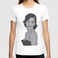 emma watson T-shirts featuring Emma Watson Portrait by IgnacioCórdoba