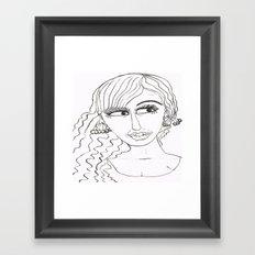 Maryja Framed Art Print