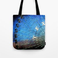 texas Tote Bags featuring Texas by Slight Clutter