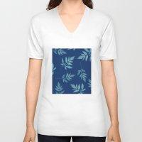 botanical V-neck T-shirts featuring Botanical by Jody Edwards Art