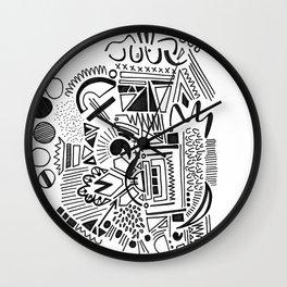 doodle 4 Wall Clock
