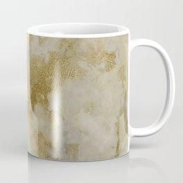 Shabby vintage white faux gold stylish marble Coffee Mug