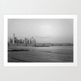 Panama City Art Print