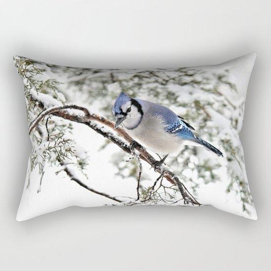 April Fools' Jay Rectangular Pillow