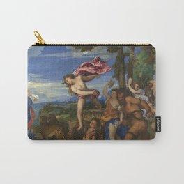 """Titian (Tiziano Vecelli) """"Bacchus and Ariadne"""", 1520-1523 Carry-All Pouch"""