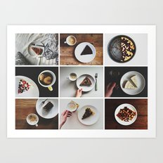 Morning stories - SWEET set Art Print