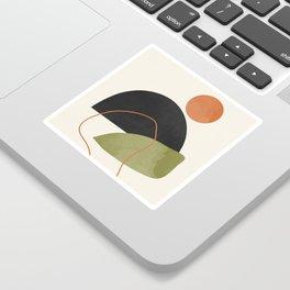 abstract minimal 64 Sticker