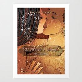 Valentine's dream Art Print