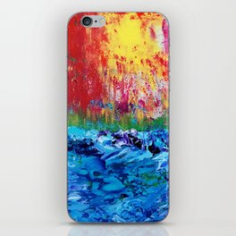 Sunset over the Sea iPhone Skin