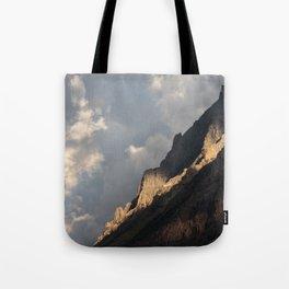 Glacier National Park Sunrise Tote Bag