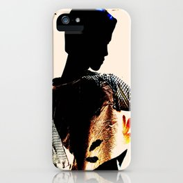 Vintage: The Mohican iPhone Case