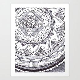 Radial 18 Art Print