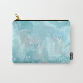 Abstract turquoise carnival Carry-All Pouch