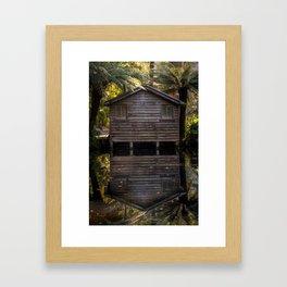 The Boathouse Framed Art Print