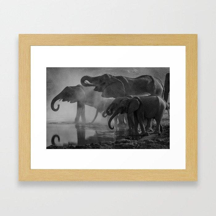 Serengeti Framed Art Print
