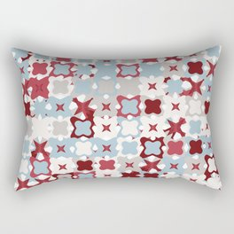 Colorful Abstract Random StarsTexture, Background Pattern Rectangular Pillow