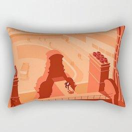 Hell is a city, Manchester Rectangular Pillow