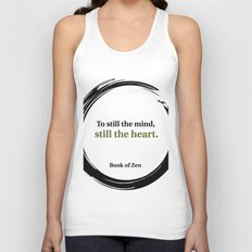 Inspirational Peace and Serenity Quote Unisex Tank Top
