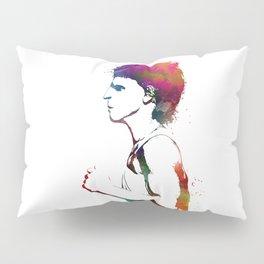 Jogging sport art #jogging #sport Pillow Sham