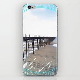 Victorian Pier - paint iPhone Skin