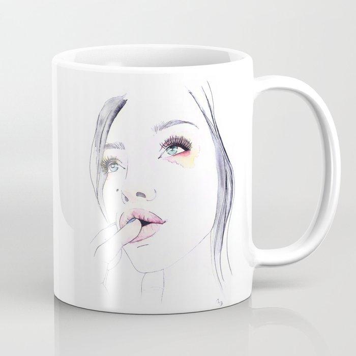 Ivy Levan   Watercolor Beauty Coffee Mug