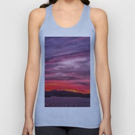 Lake Havasu Sunrise Unisex Tank Top