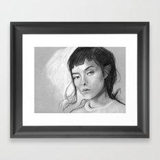 Charcoal Drawing No. 3 Framed Art Print