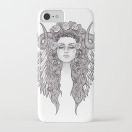 Horned Goddess 2 iPhone Case