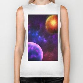Cosmic Planets Biker Tank
