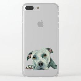 Big Ol' Head Clear iPhone Case