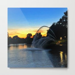 Thames River from London, Ontario Metal Print