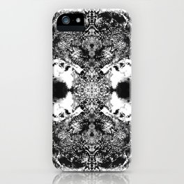 Black Gatria- Abstract Costellation Painting. iPhone Case