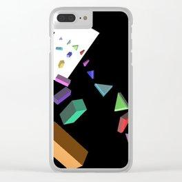 Portals Clear iPhone Case