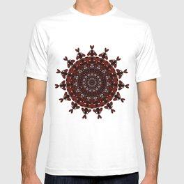 Maroon Mandala T-shirt