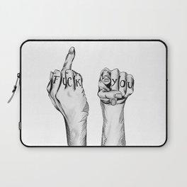 Fuck You Laptop Sleeve
