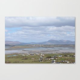View From Croagh Patrick Canvas Print