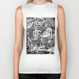 Psychedelic Visions of the Bisexual Shaman Chicks Biker Tank