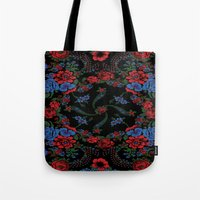 russian Tote Bags featuring Russian Style by Eduardo Doreni