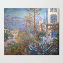 Claude Monet - Villas at Bordighera Canvas Print