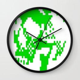 Pixskull Wall Clock