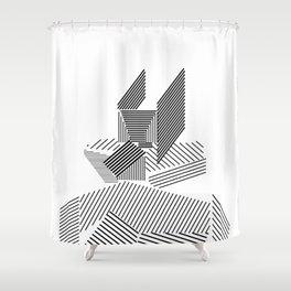 grid figures 14b19 Shower Curtain